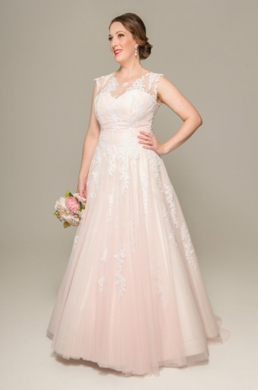 Marizelle wedding gown, plus size wedding gown